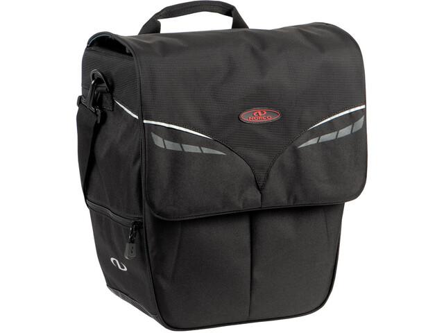 Norco Ohio City Shopper Pannier Bag, black
